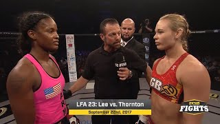 Fight of the Week: Andrea Lee vs. Jamie Thorton
