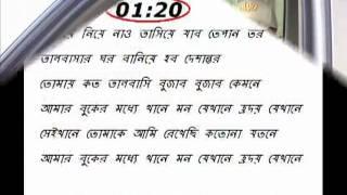 Bangla Sound Track With Lyric amar buker moddo khane  Andru kisor flv