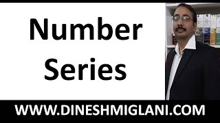 Number Series Best Concept with Examples for SSC, SBI PO  by Dinesh Miglani