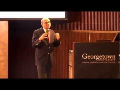 Dr. Brahma Chellaney Discusses Global Warming in the Climate Change Lecture Series  -