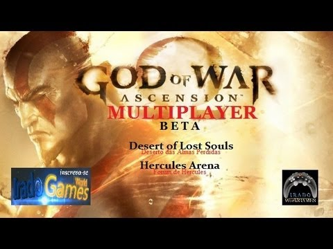 God of War Ascension PVP Multiplayer Beta GAMEPLAY