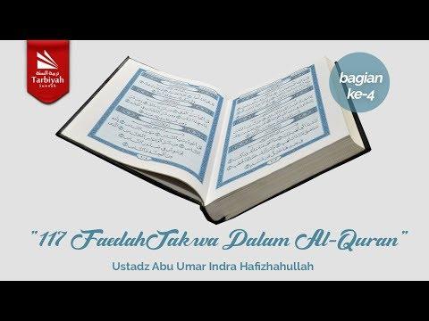 Live | 117 Faedah Takwa dalam Al Quran - Ustadz Abu Umar Indra