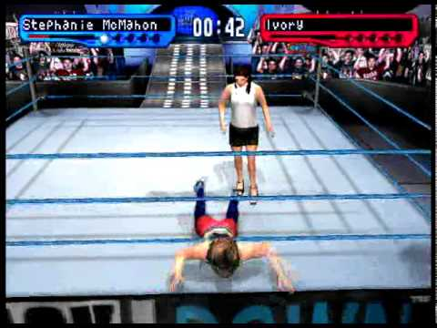Stephanie McMahon - Finisher - Women's Special Slap - WWF Smackdown 2! Know Your Role [PSX] thumbnail