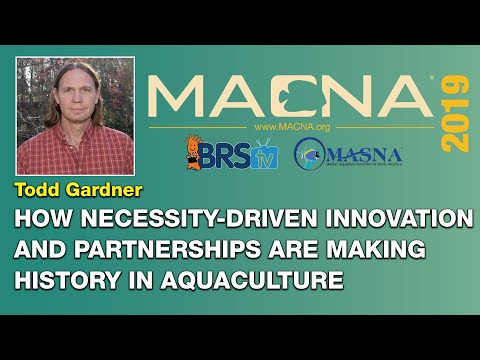 Todd Gardner: How the reefing hobby's innovations drive marine aquaculture. | MACNA 2019