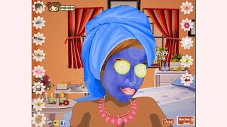 How to play Clean Facial Spa game | Free online games | MantiGames.com