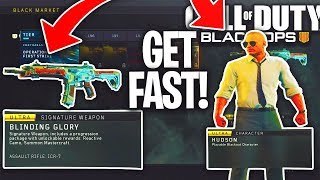 "How To Level Up Tiers ""FAST"" for BO4 Black Market ""Battle Pass"" (BO4 NEW FREE DLC HALLOWEEN UPDATE)"