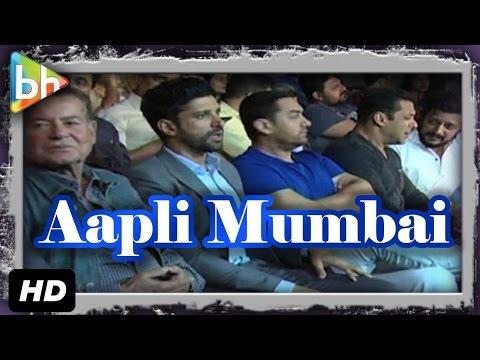 Aamir Khan   Salman Khan   Riteish Deshmukh   Raj Thackeray At 'Aapli Mumbai' Meet