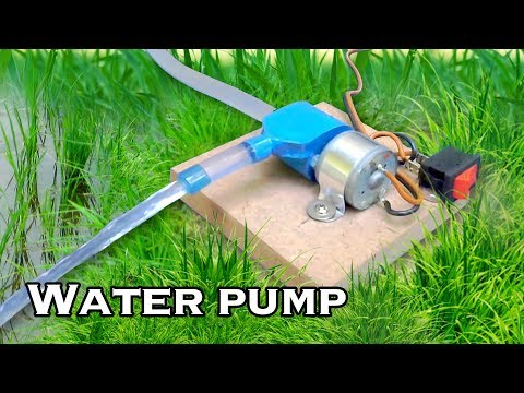 How to Make Smallest Water Pump - Science Project