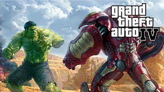 DUELO IRON MAN HULKBUSTER VS HULK - GTA MODS