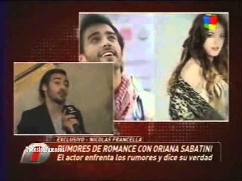 Intrusos-Nico Francella rumores de romance con Oriana Sabatini
