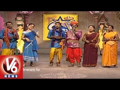 Singers Performing Telangana Folk Songs in Folk Stars Dhoom Tadaka