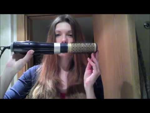 Укладка длинных волос феном щеткой Philips Beauty Airstylist ION