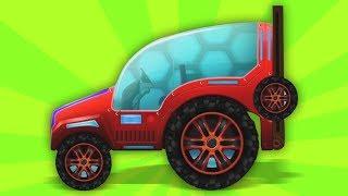 Nhà để xe sửa đổi máy kéo | nhac thieu nhi hay nhất | Tractor Modification | Kids Tv Channel Vietnam