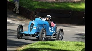 Vintage & Pre War Cars: Shelsley Walsh VSCC Speed Hill Climb 2017 with Salmson Twin Cam