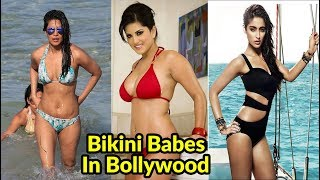 Top 10 Hottest Bikini Actresses In Bollywood 2018