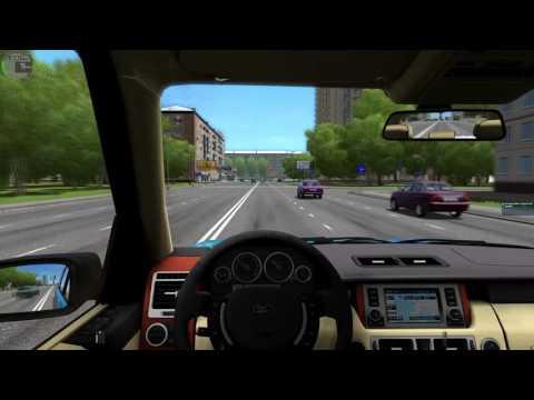 [City Car Driving 1.5.2] - Тест Драйв Range Rover Vogue 2008 (Pontorezka)