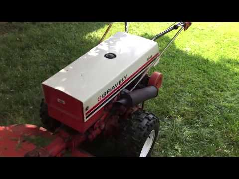 Bad Ass Cuttin Grass Gravely 546 With Commercial 40 Cutting Zoysia Grass In PA