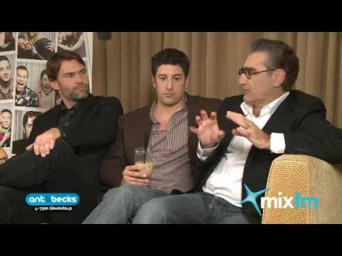 American Pie Reunion, Jason Biggs, Eugene Levy, Seann William Scott | MixFM