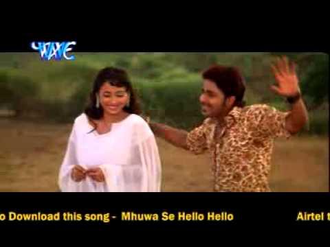 Videomix Bhojpuri Super Hit Song Pawan Singh Munhwa Se Hello Hello Othwa Se Gali video