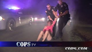 Running Hard, Officer James Hamlin, COPS TV SHOW