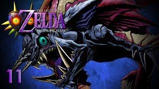 GREAT PAIN TEMPLE - Let's Play - The Legend of Zelda: Majora's Mask - 11 - Walkthrough Playthrough