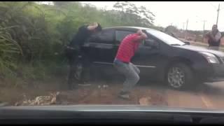 Perseguição perigosa a 3 bandidos no Santo Antônio do Descoberto