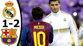 Real Madrid vs FC Barcelona 1-2 All Goals and Highlights with English Commentary (CDR) HD
