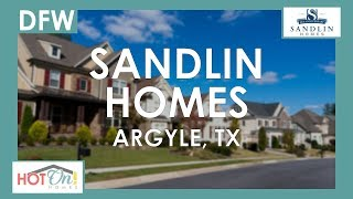Sandlin Homes at Country Lakes in Argyle, TX