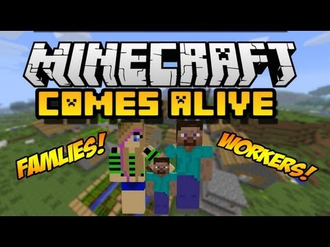 Minecraft Comes Alive Mod 1.7.10/1.7.2/1.6.4/1.6.2 (Install Guide Included)