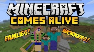 Minecraft Comes Alive Mod 1.7.2/1.6.4/1.6.2 (Install Guide Included)