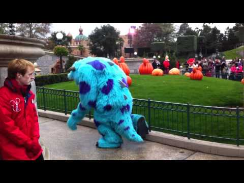 Disneyland Halloween 2010 -- Disney showtime spectacular - Sulley