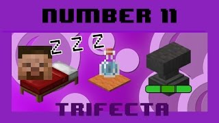 Trifecta #11 - Realistic Sleeping, Repair Anvils, Potion Carpet