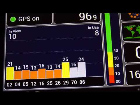 Asus Transformer Prime GPS location test