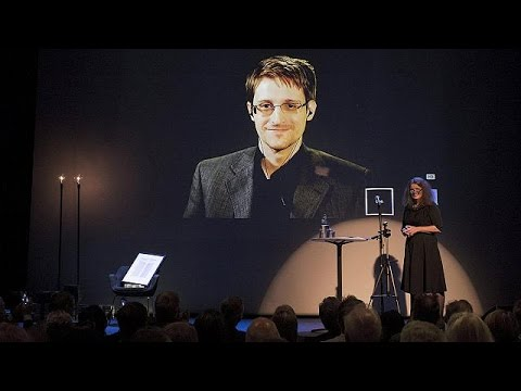 Snowden honoured by Norway for US surveillance leaks
