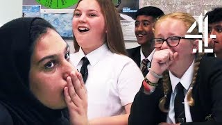 School Kid's SURPRISED When Revealing Racial Stereotypes | The Great British School Swap