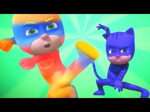 Герои в масках PJ Masks | Супер клипы 4 | 30 минут | мультики для детей
