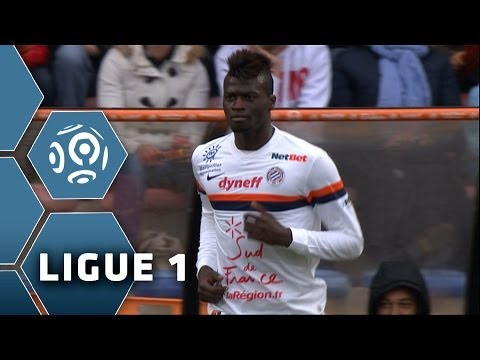 But Mbaye NIANG (56') - FC Lorient-Montpellier Hérault SC (4-4) - 20/04/14 - (FCL-MHSC)