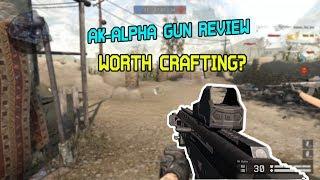 WARFACE - AK ALPHA GUN REVIEW - WORTH IT?
