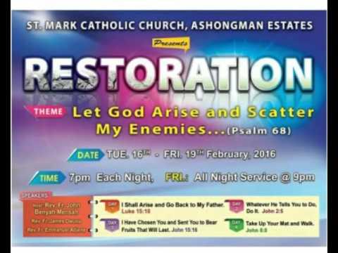 Restoration day 3 TALK 01