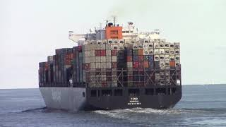 Container Ship Vlog #20 (Leaving  Anchorage off Virginia Beach)