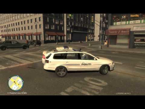 GTA IV - Danish Police Patrolling The Streets 7