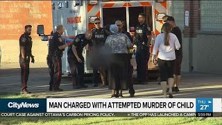 Man charged with attempted murder of Brampton boy