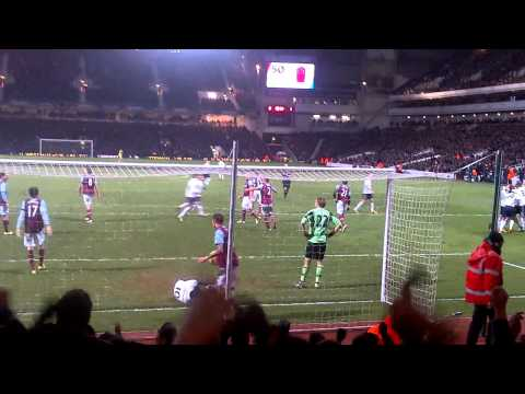 West Ham 2-2 Tottenham *Goal by Gylfi Sigurdsson* (25/2/13) (final score 2-3)