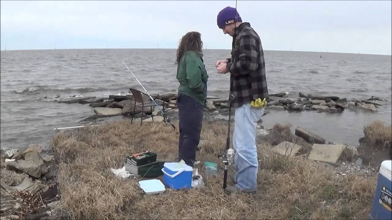 Louisiana fishing lake pontchartrain second time out for Buy louisiana fishing license online
