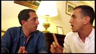 Gad Elmaleh avec Momo - أطفال أصيلة - المنتخب المغربي في روسيا