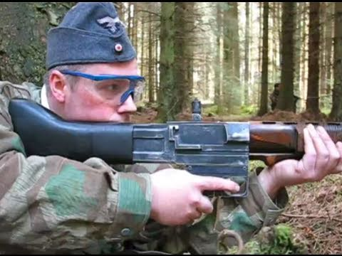 Airsoft War FG-42, VFC Bar, MP44, M1A1 POW Scotland