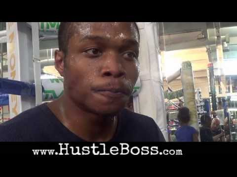 Anthony 'Lights Out' Smith: Interview, gym coverage, + mitt work w/Jeff Mayweather before pro debut
