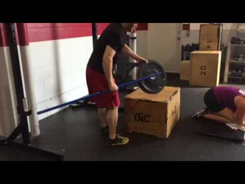 Box Jump Over and Under PVC