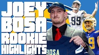 Joey Bosa Defensive Rookie of the Year Highlights