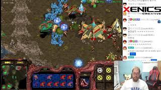 스타1 StarCraft Remastered 1:1 (FPVOD) Larva 임홍규 (Z) vs Barcode (P) Fighting Spirit 투혼